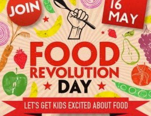 La FOOD REVOLUTION de Jaimie Oliver.