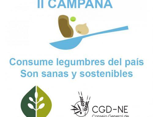 II Campaña Consume legumbres del país. Son sanas y sostenibles.