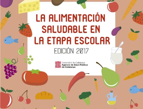 Guía la alimentación saludable en la etapa escolar