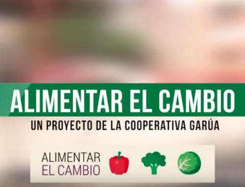 VIDEO Alimentar El Cambio: transición agroecológica de escuelas madrileñas con la Coop Garúa