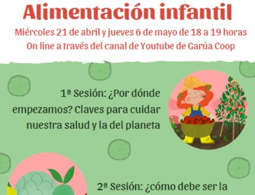 Alimentación infantil saludable y sostenible: sesiones en abierto