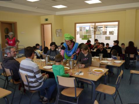 Comedores escolares y economía local.