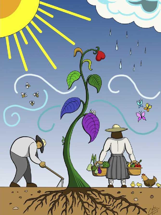 Condimentos para el cambio: SAN ISIDRO LABRADOR… ¡ECOLÓGICO!