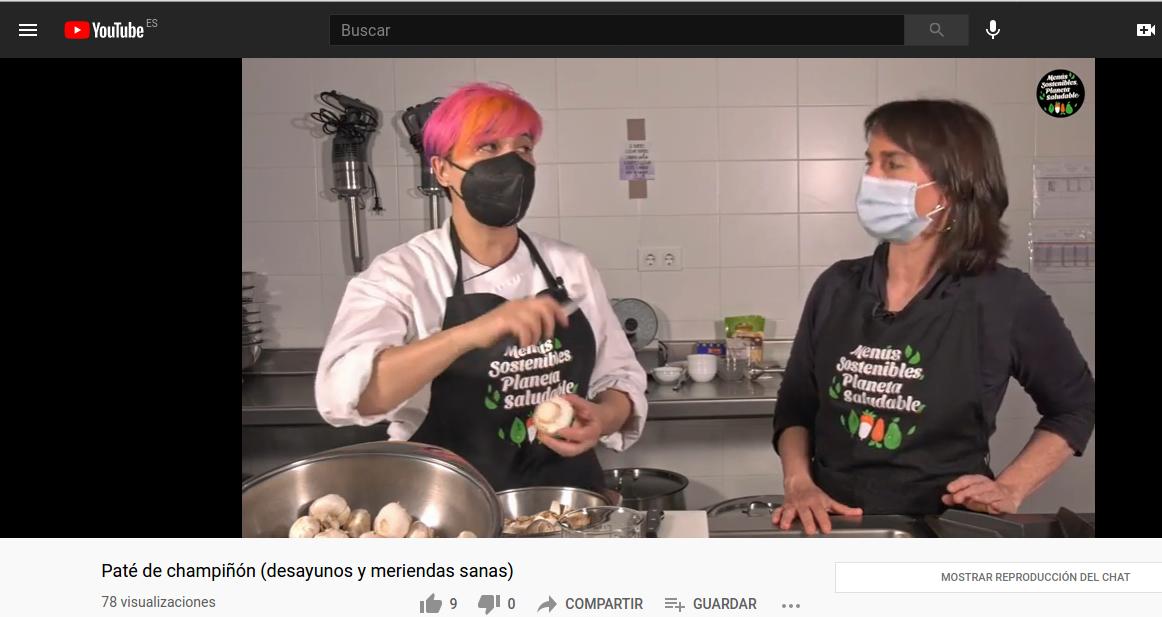 Video-recetas de desayunos y meriendas saludables